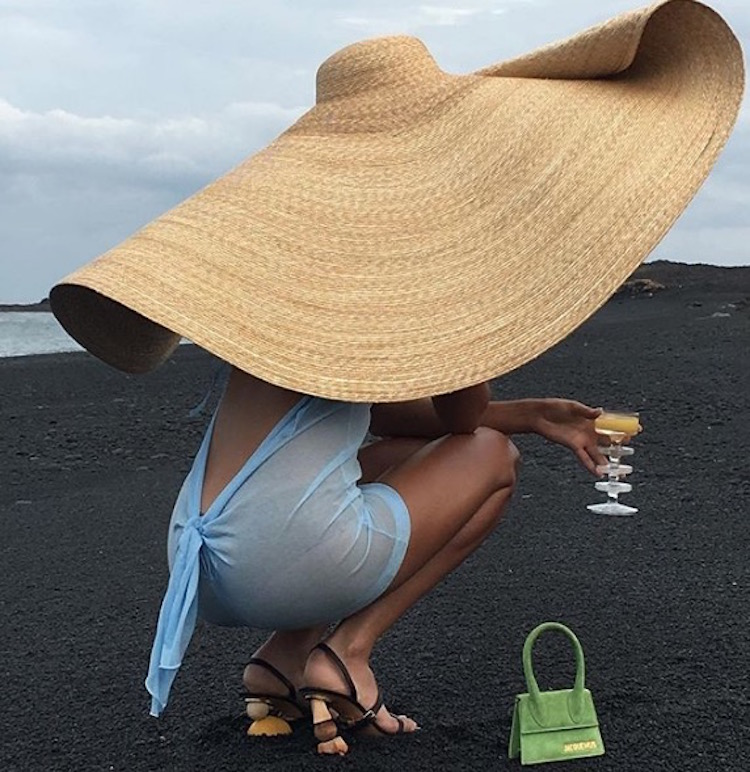 d74853729c919 Summer Hats 2018  Heading to la plage anytime soon  Super-sized is the only  way to step out into the sun
