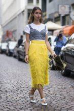 Not So Mellow Yellow: Celine Dion In Maison Rabih Kayrouz