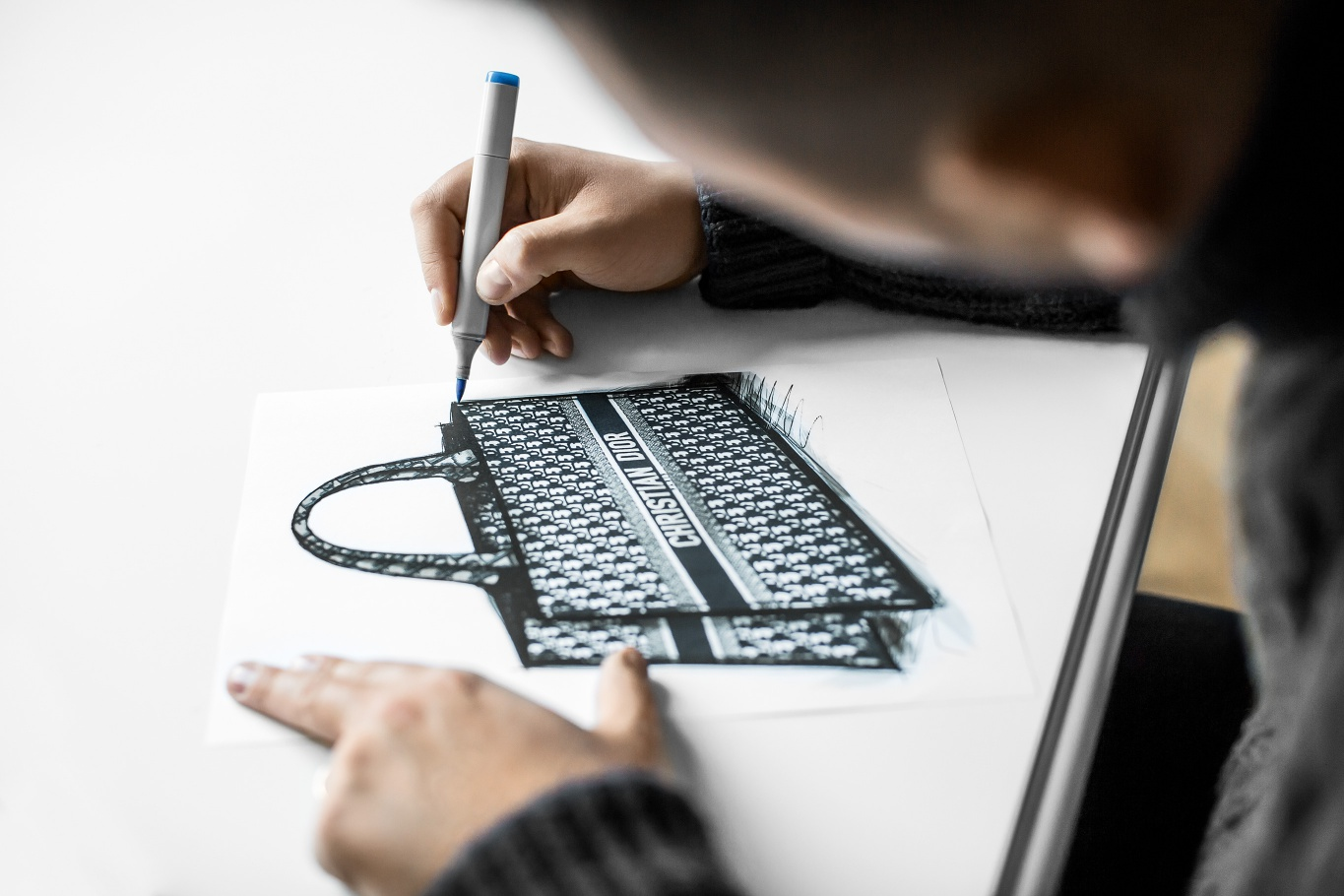 9ffdd05a272f Watch Now  How To Make A Dior Book Tote