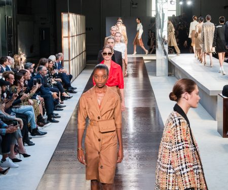 Riccardo Tisci's First Collection For Burberry
