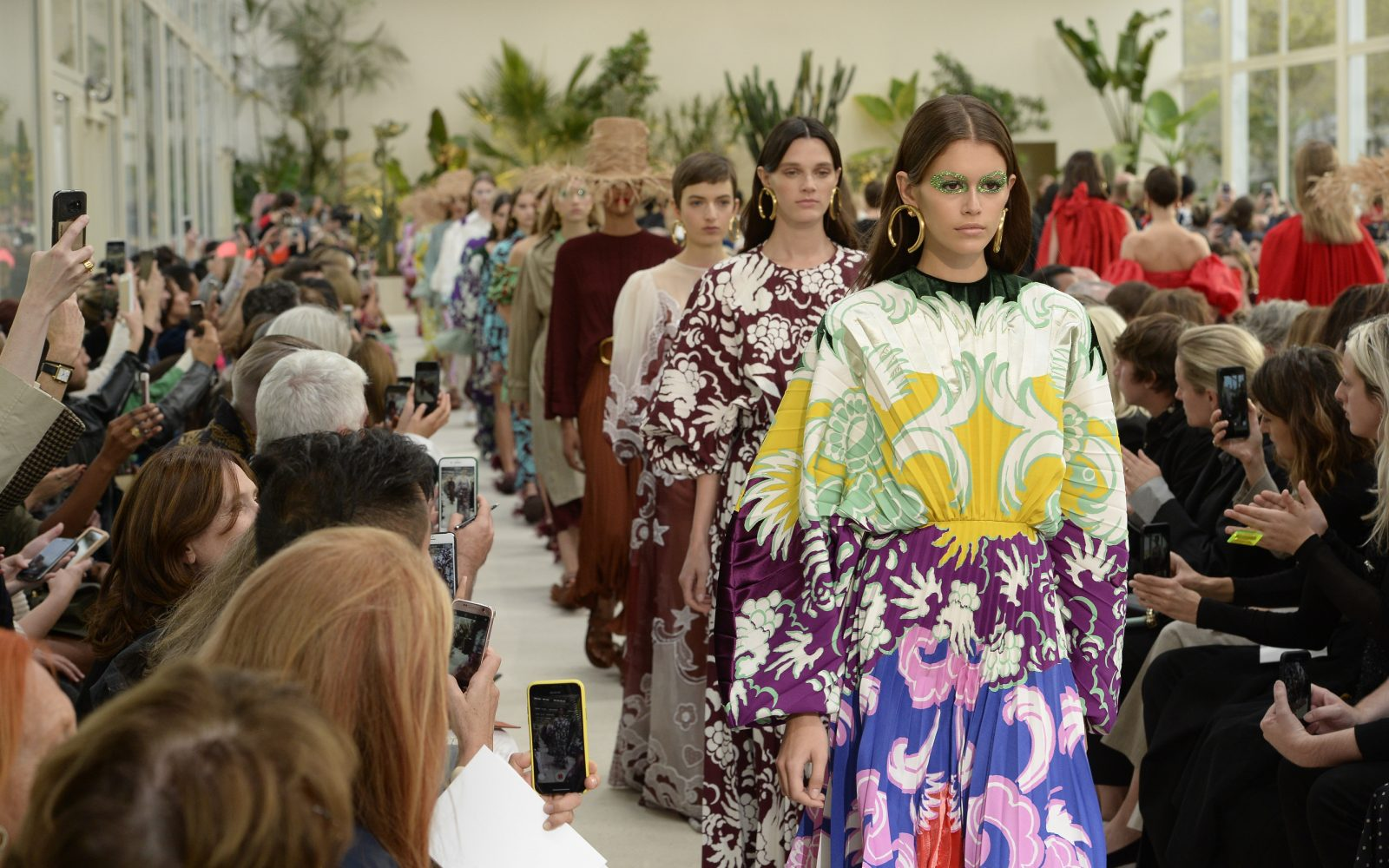 fc127a75 The Best Looks From The Valentino SS19 Show | Fashion | MOJEH Magazine