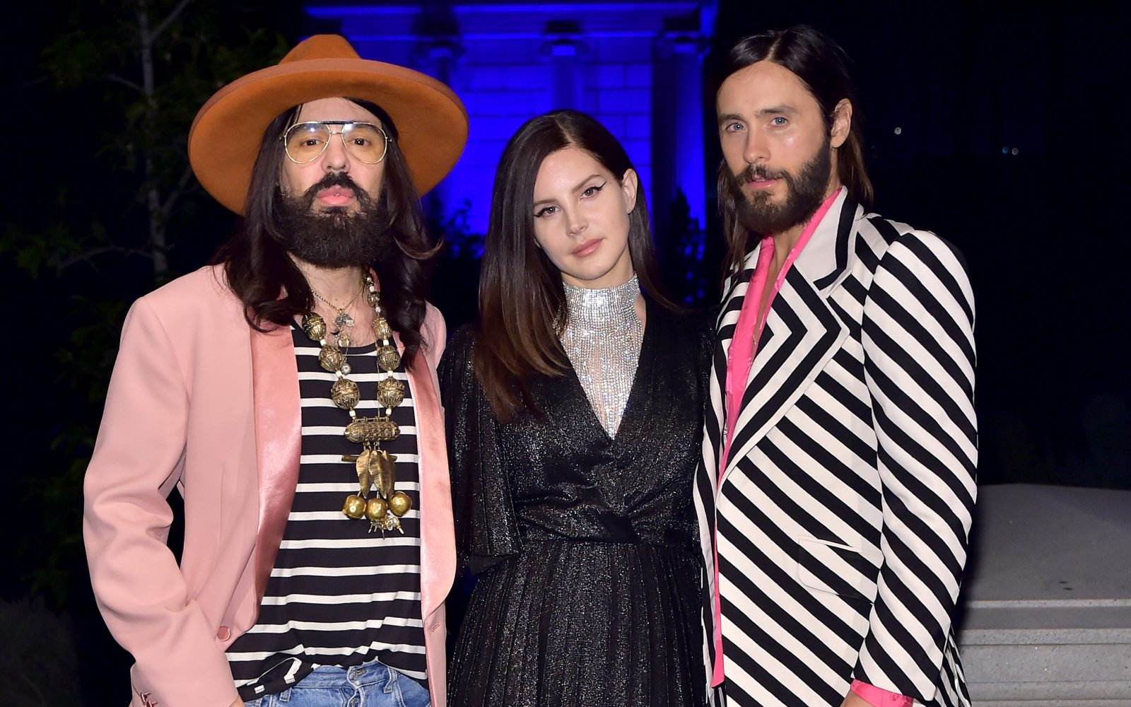 45e60ee4d Gucci Creative Director Alessandro Michele, Lana Del Rey, and Jared Leto  attend the Gucci Guilty launch party at Hollywood Forever on November 2, ...