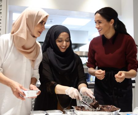Meghan Markle Visits The Hubb Community Kitchen