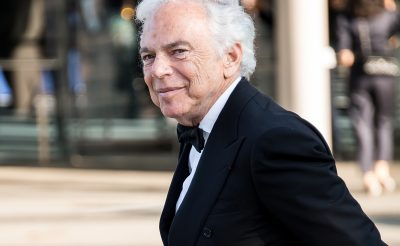 Ralph Lauren Receives An Honorary Knighthood
