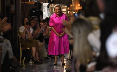Miuccia Prada Honoured At The Fashion Awards