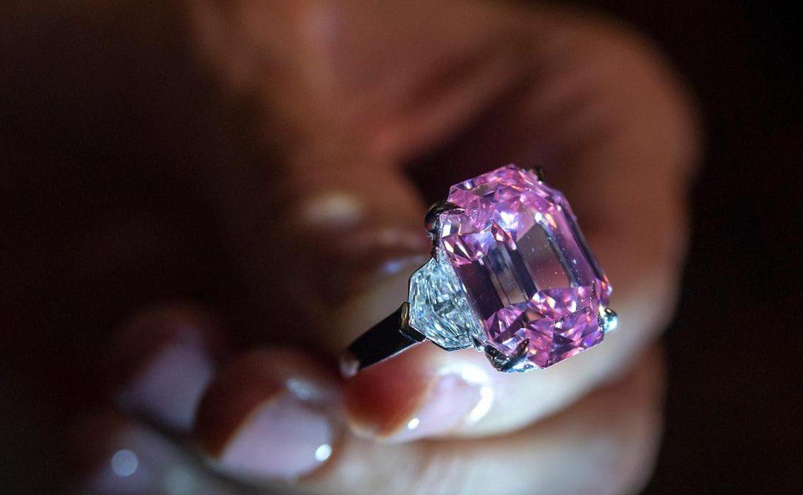 Harry Winston Buys World's Most Expensive Pink Diamond