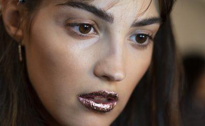 Jeremy Scott SS19 Glitter Lips