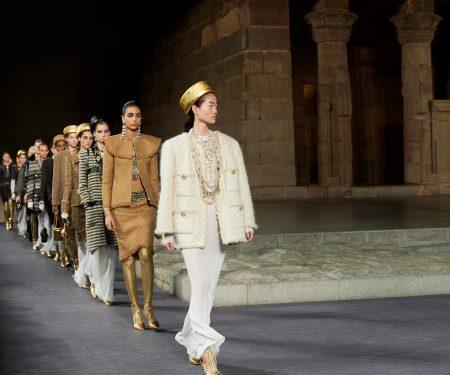 Pharrell Williams Walks In Chanel's Métiers D'Art Show