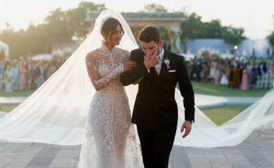 Priyanka Chopra Wears Ralph Lauren Wedding Dress