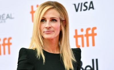 Julia Roberts Is Bringing Back Leather Trousers