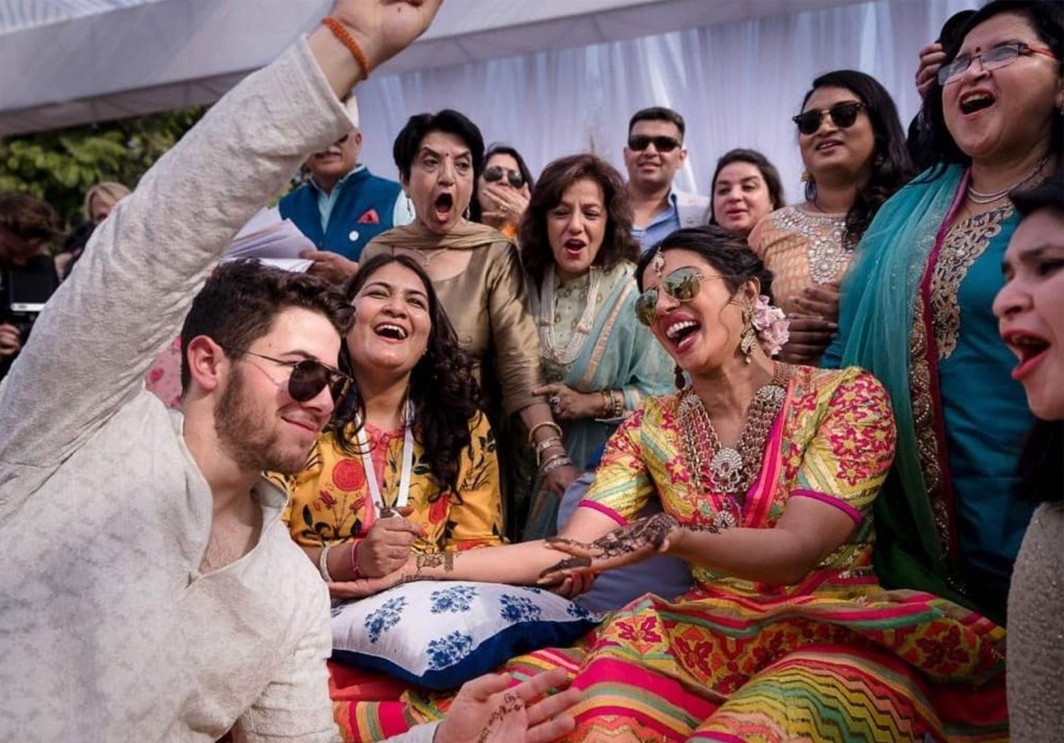 49b6fab7e حفل زفاف بريانكا شوبرا في الهند | حب وزواج | مجلة موجيه