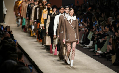 Karl Lagerfeld's final collection for Fendi