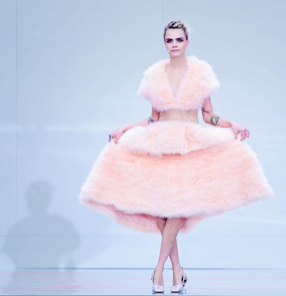 Cara Delevingne in Chanel