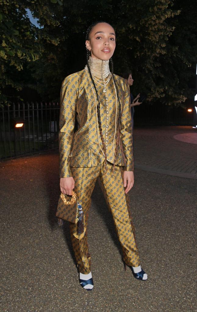 FKA Twigs in Dior