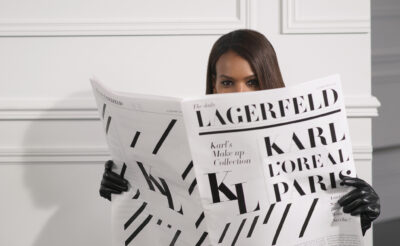 Karl Lagerfeld x L'Oreal collaboration announced to launch in September