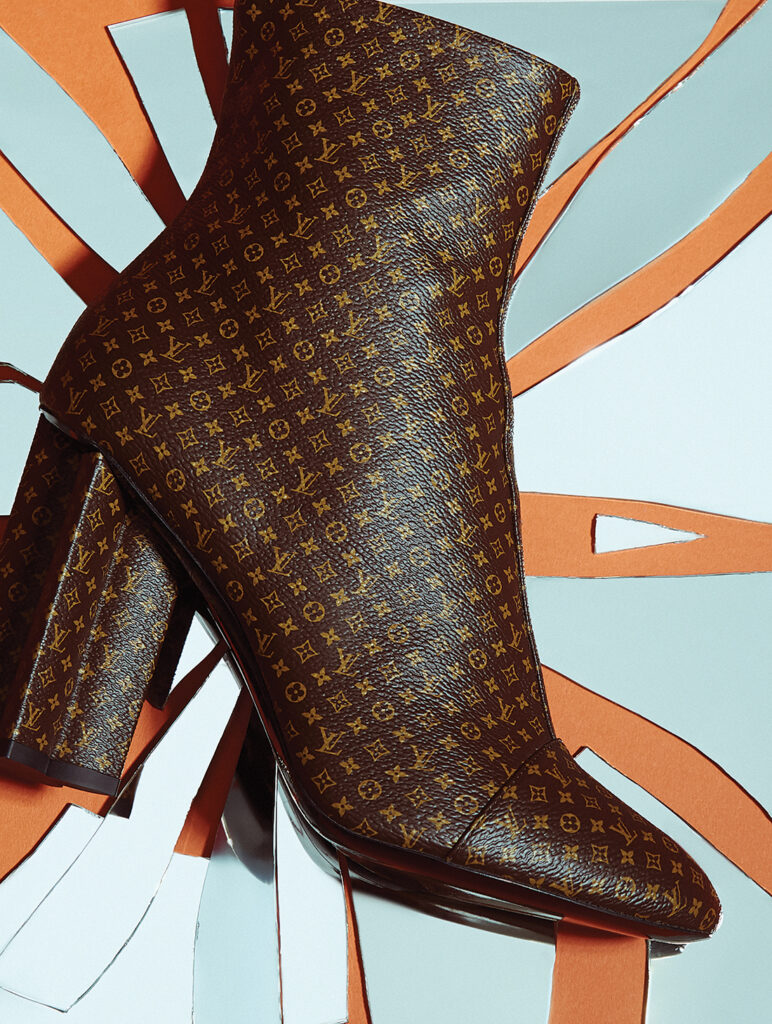 Ankle Boot Monogram, Louis Vuitton