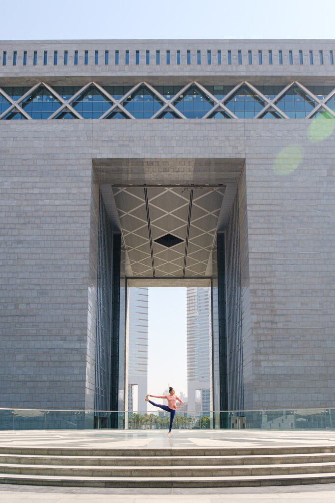 Hush from the Rush yoga session at DIFC
