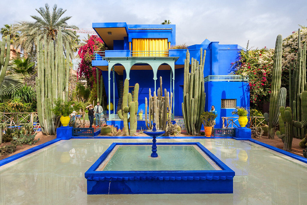 Yves Saint Laurent Museum at Jardin Majorelle