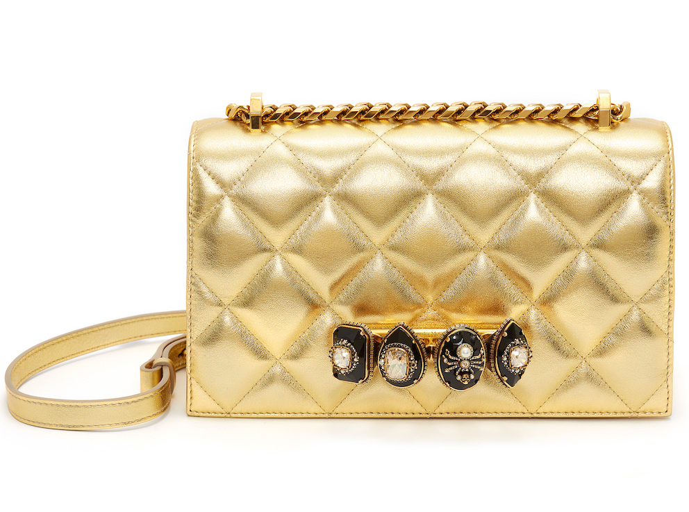 Dubai Exclusive Spider Jewelled Satchel