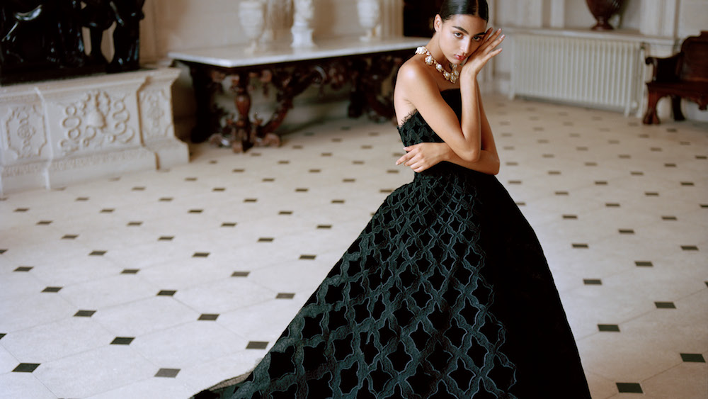 Eveningwear Edit: Nora Attal in Oscar de la Renta