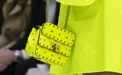 Neon Valentino bag