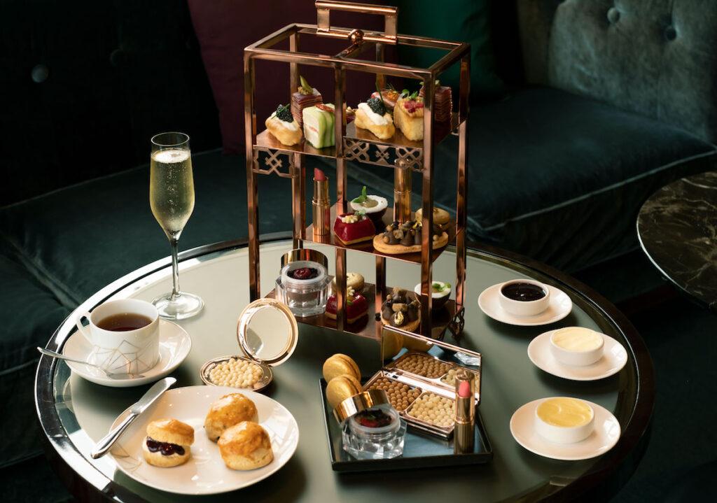 best afternoon tea Charlotte Tilbury