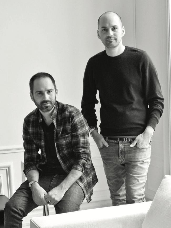 Arik and Laurent Bitton