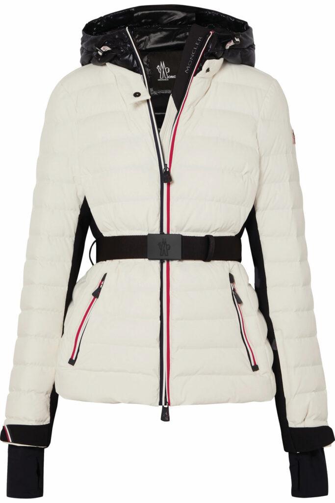 ski fashion coat