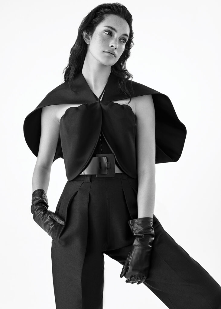 Louis Vuitton styled by Connie Berg