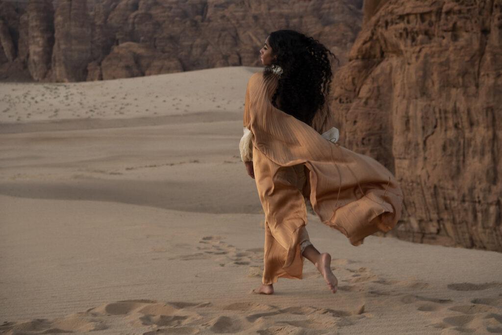 desert in Saudi Arabia