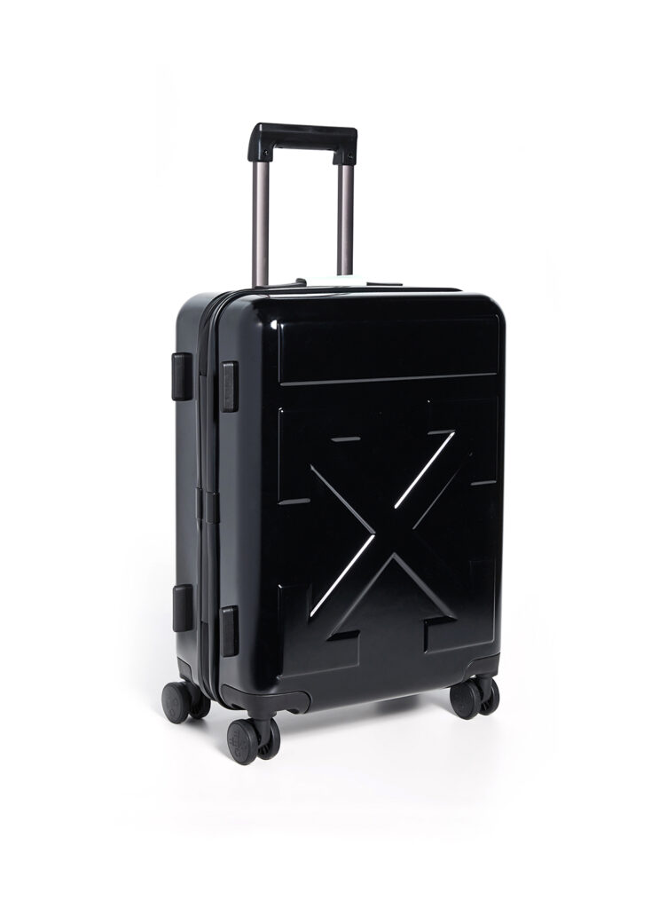 off white suitcase at shopbop