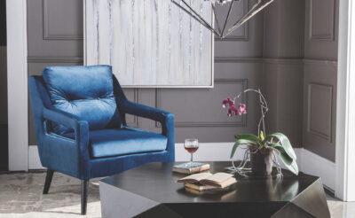 classic blue interior design