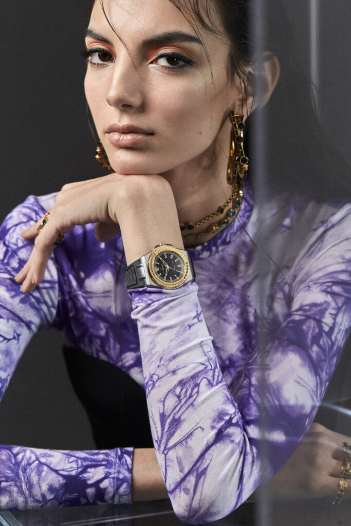 Versace SS20 watch campaign