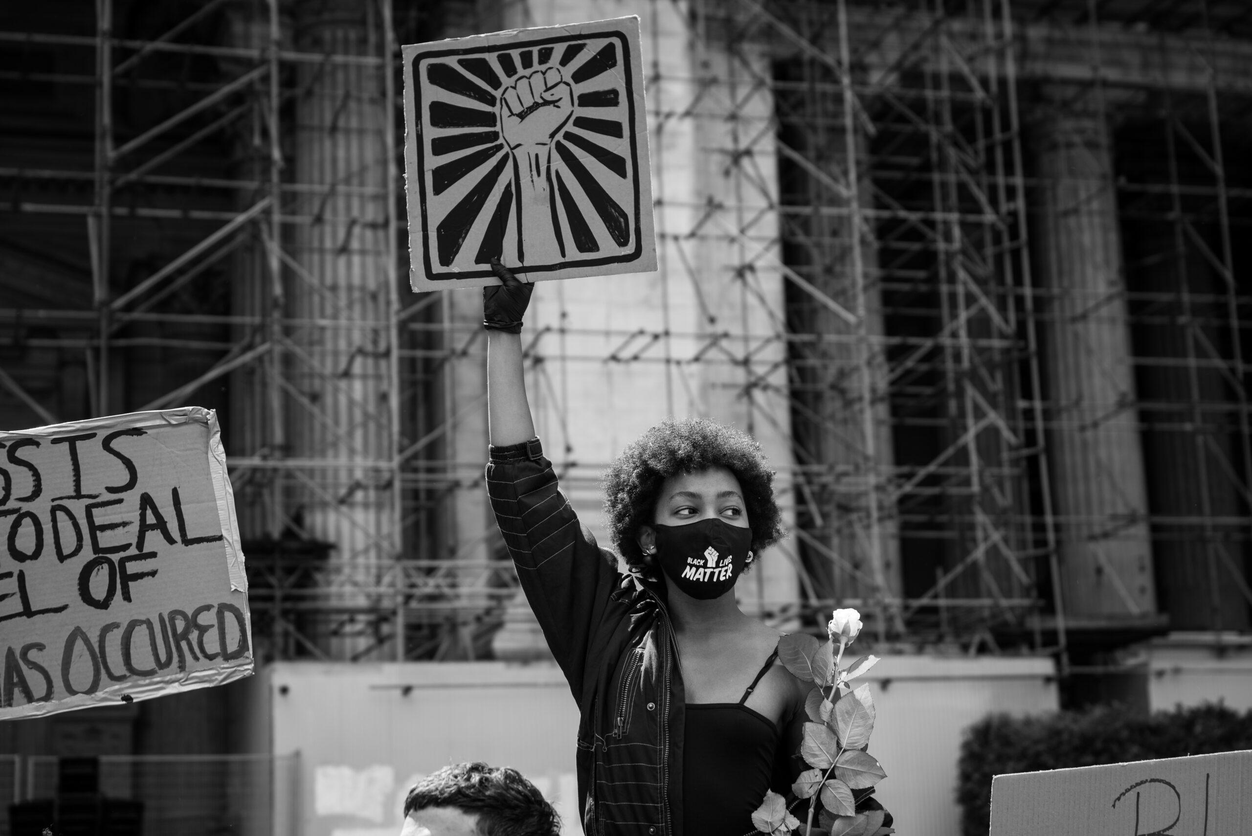 Black Lives Matter photograph