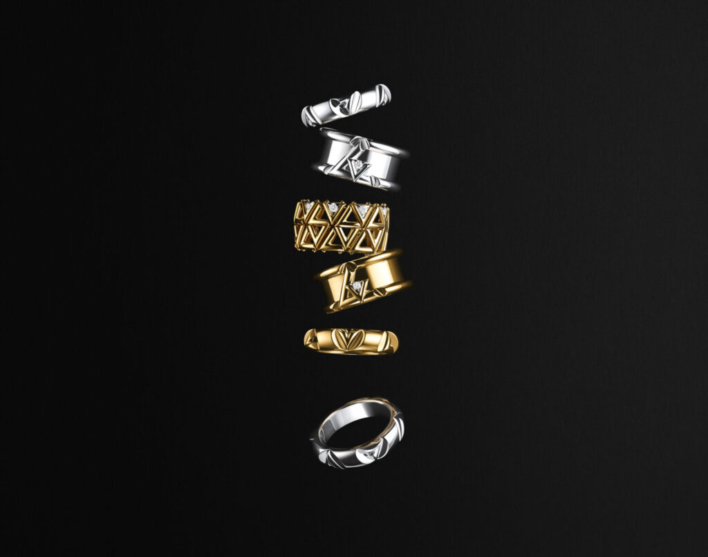 Initial Attraction: Louis Vuitton Unveils The LV Volt Collection ...