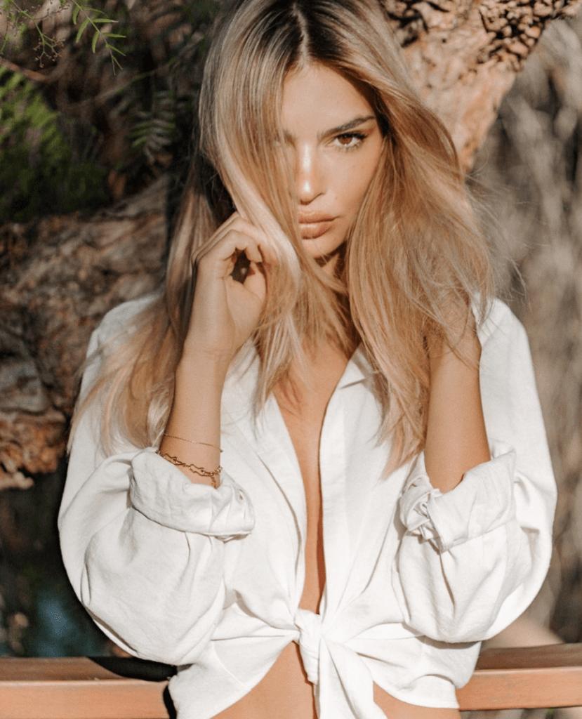 Emily Ratajkowski blonde