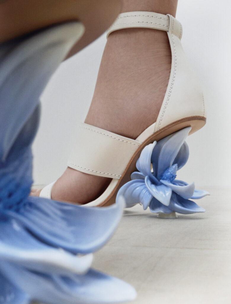 McQueen flower heels