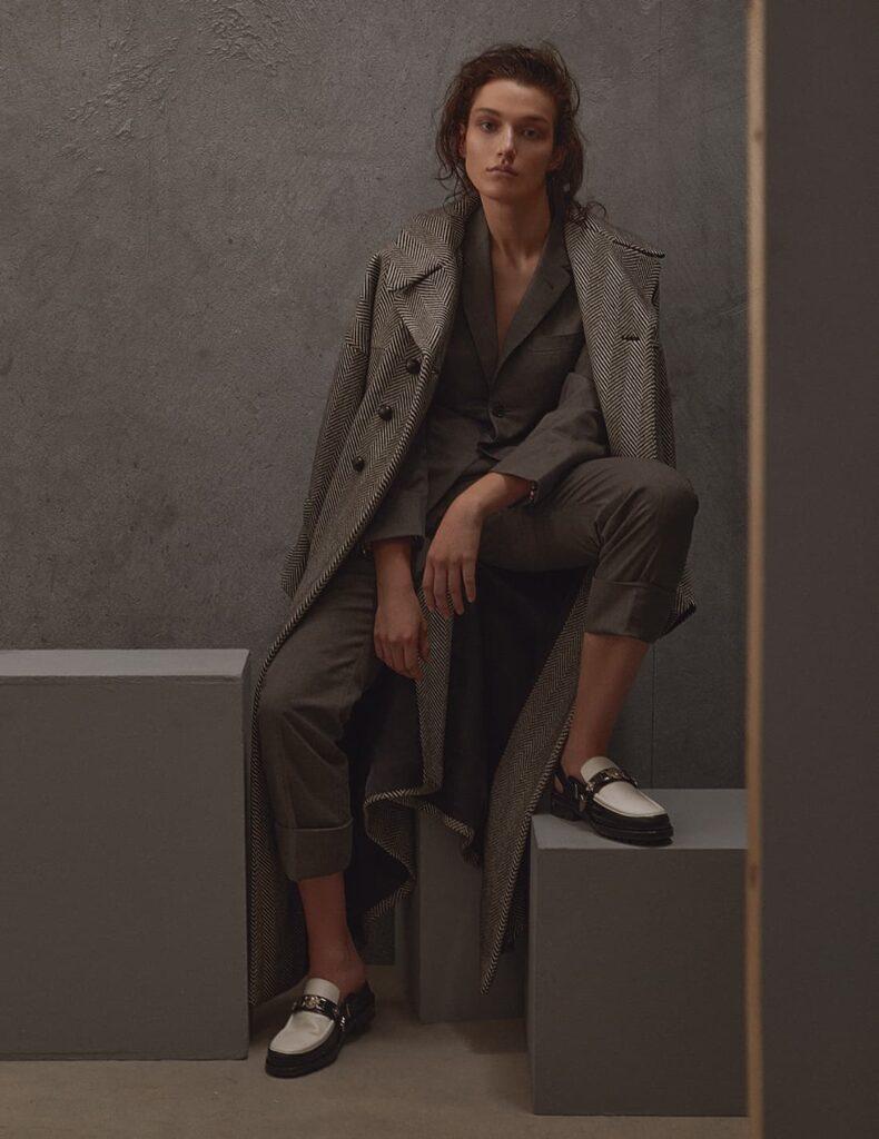 fashion shoot daytime wardrobe suit