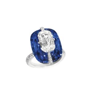 diamond sapphire jewellery