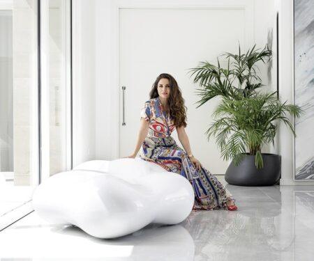 Interior designer Sawsan invites MOJEH into her home