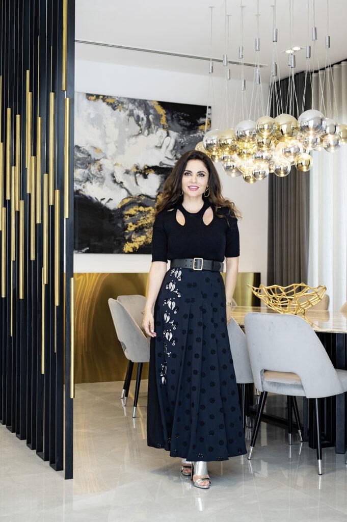 Interior designer Sawsan Chammas Haber