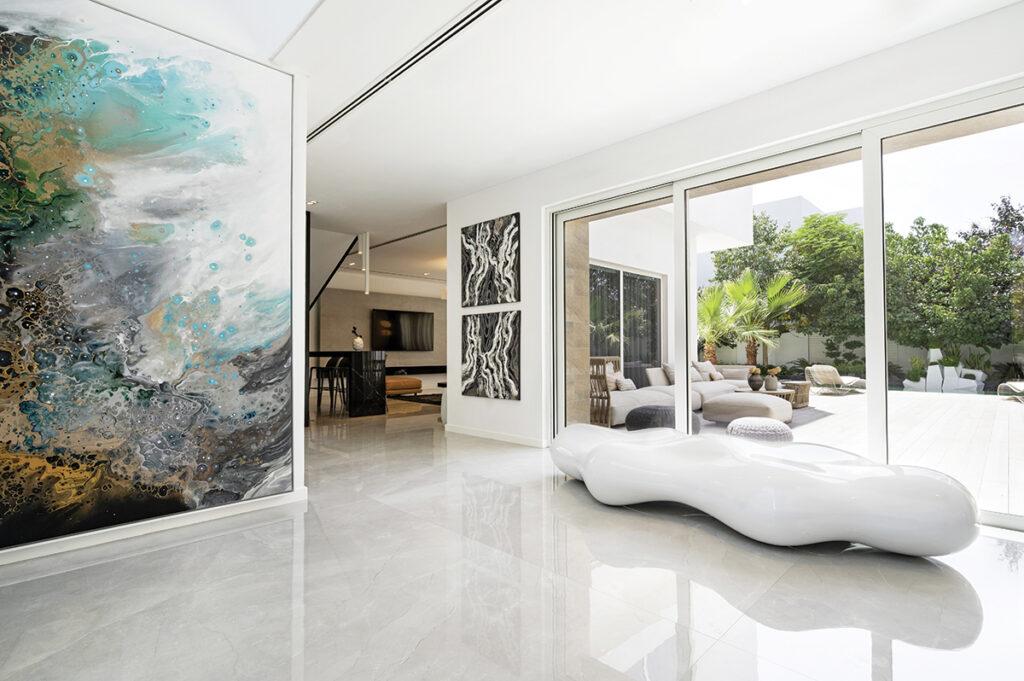 The home of interior designer Sawsan