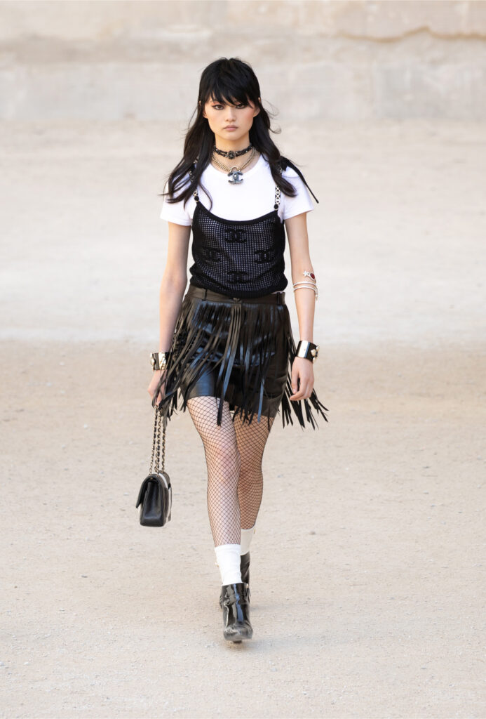 Chanel Cruise 2021/22 Collection was first shown in May in the South of France