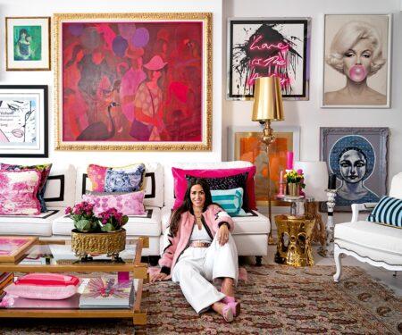 At home with interior architect and designer Miri Najarian Khayat
