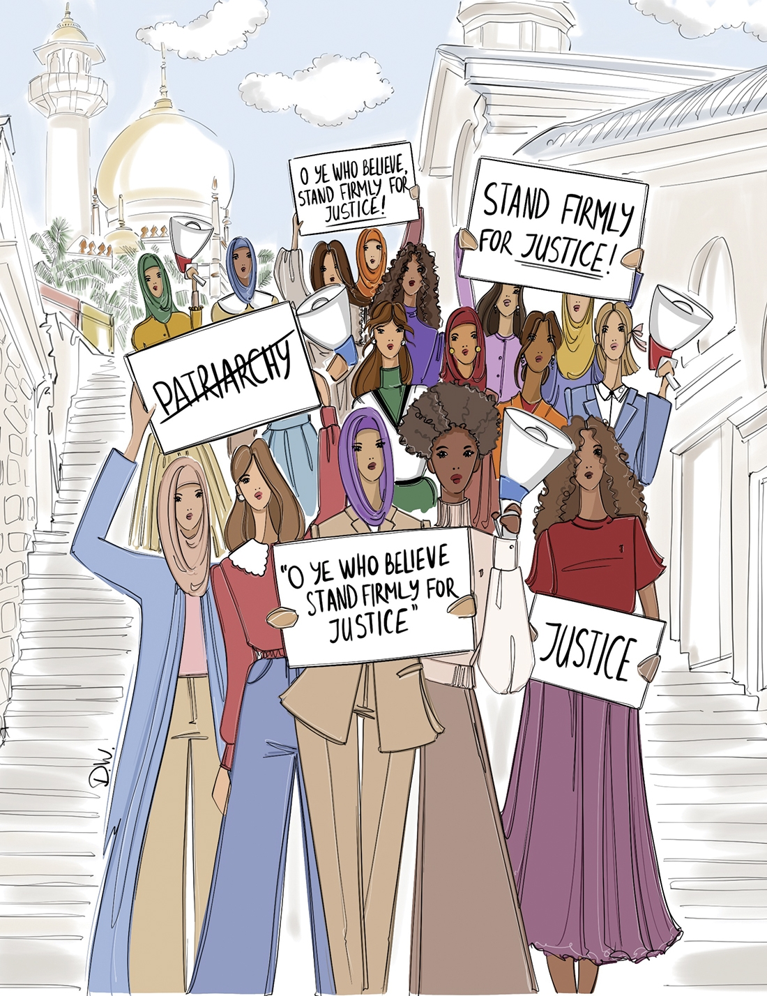 The rise of feminism in the Muslim world
