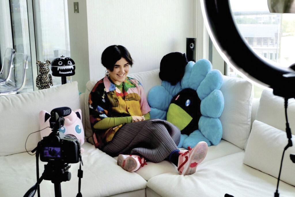 Sneaker lover Tamila Kochkarova is the founder of No Boys Allowed
