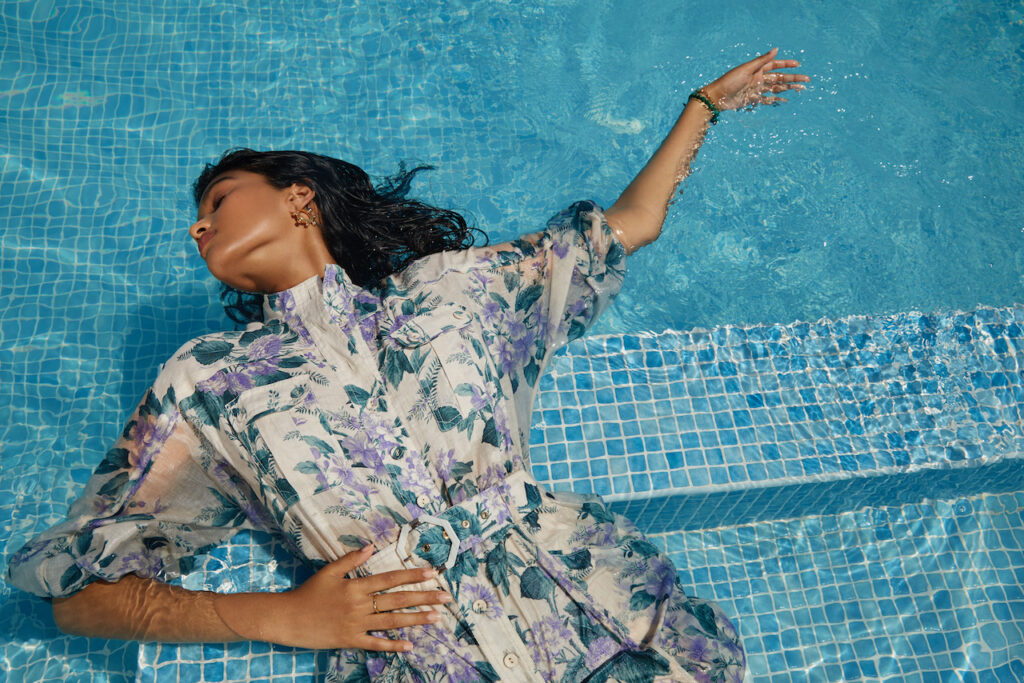Harvey Nichols Dubai Pre-Fall 2021 is now in store. Zimmerman takes over prints this summer