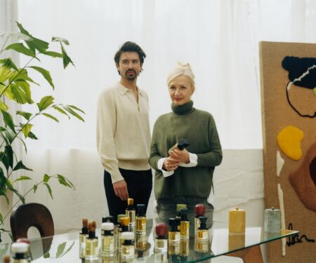 The mother-son duo that founded fragrance house Ormaie
