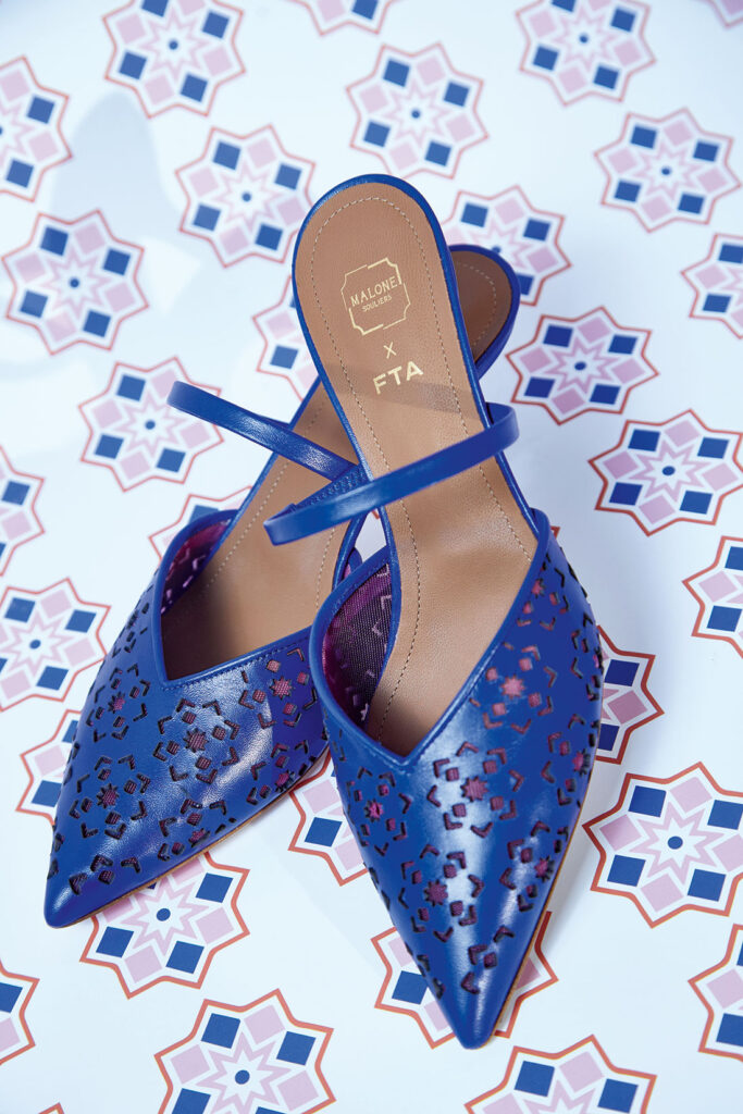 Malone Souliers has created The Marla in partnership with Fashion Trust Arabia