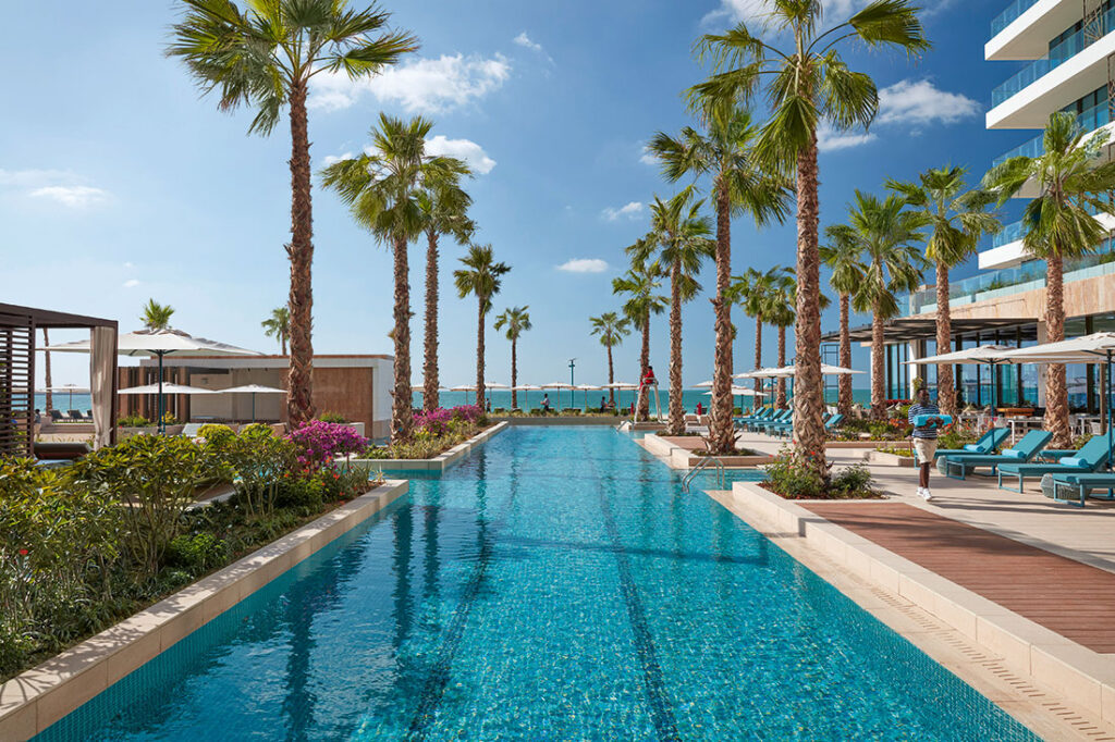 You'll find us at the pool at Mandarin Oriental Jumeira Dubai this summer holiday